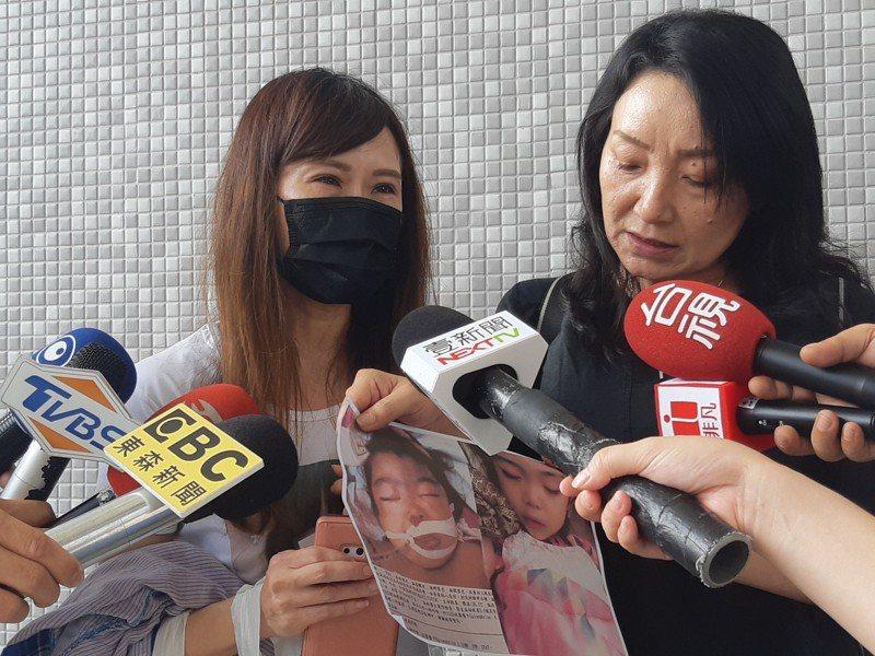 噴槍女童命案今首開庭,女童母親鄧女直說,要繼續為女兒努力。記者賴郁薇/攝影