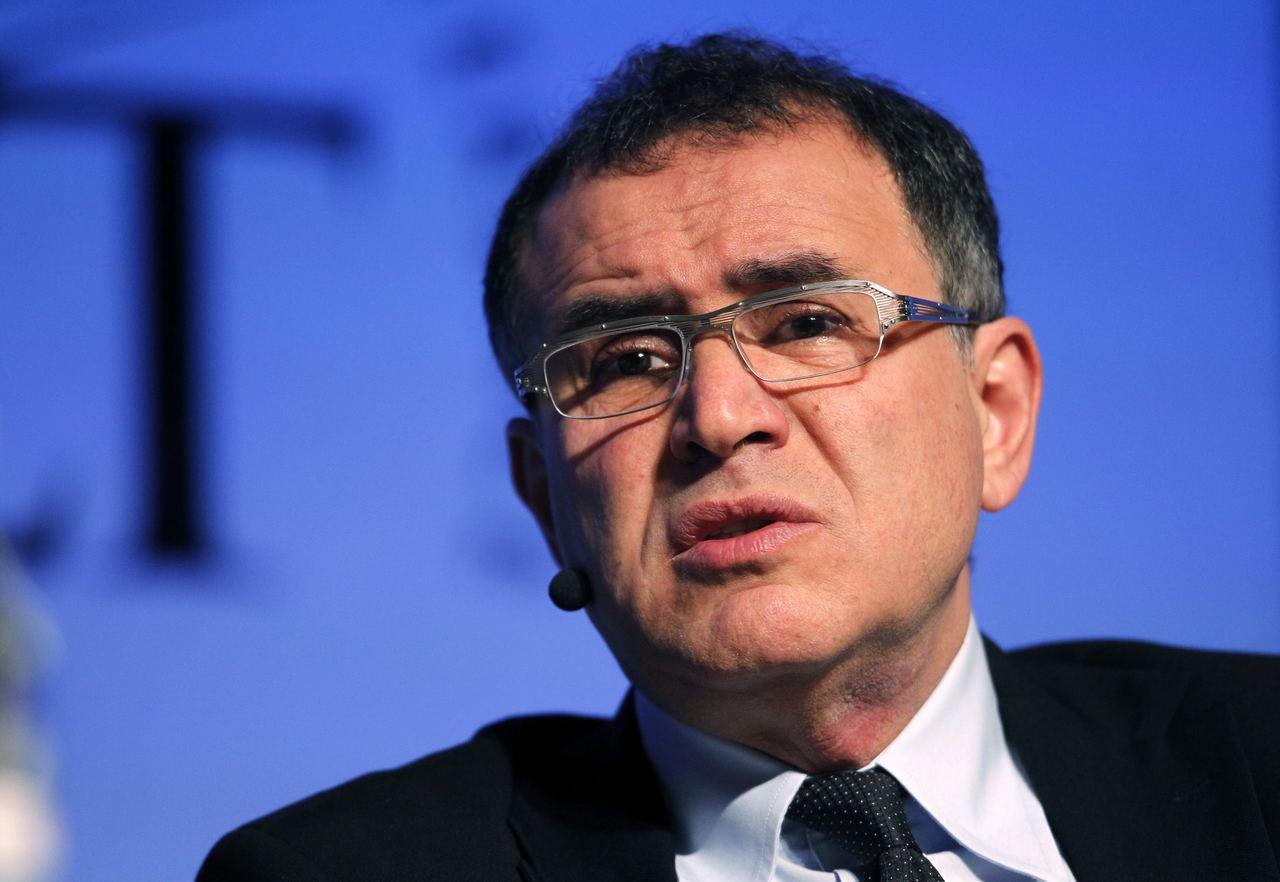經濟學家羅比尼(Nouriel Roubini)。(圖/路透)