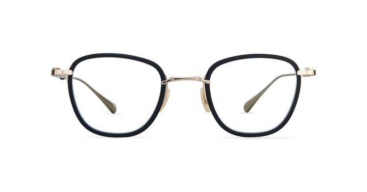 GRIFFITH CL霧面黑與白K金(12K),售價27,800元。圖/有橙國際...