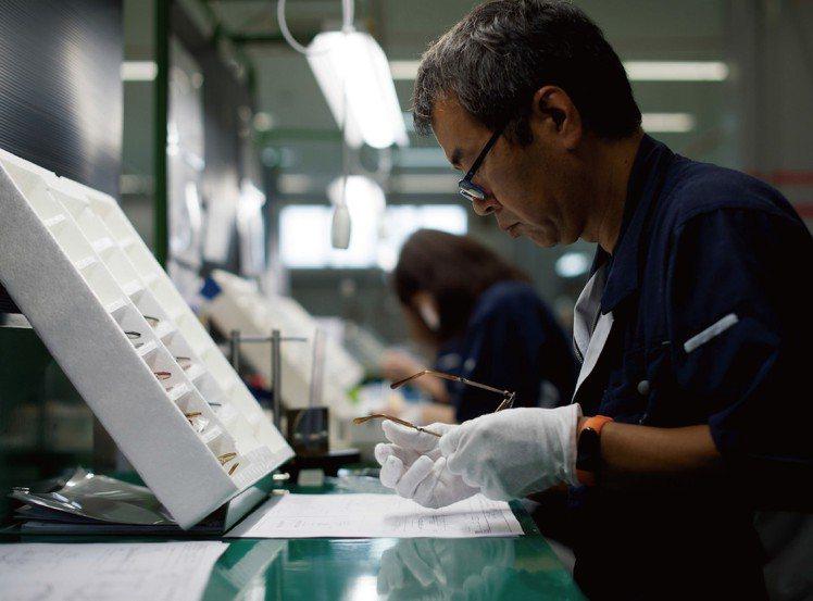 Mr. Leight強調日本匠人手工打造。圖/有橙國際有限公司提供