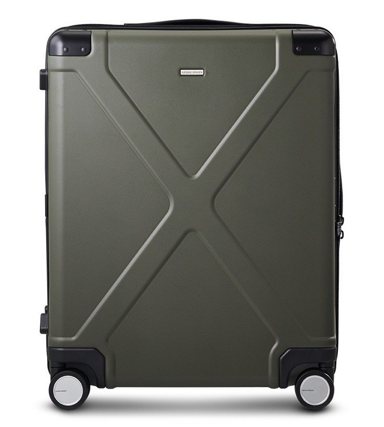 Georg Jensen INFINITY 22吋北歐森林灰聚碳酸酯行李箱,15...