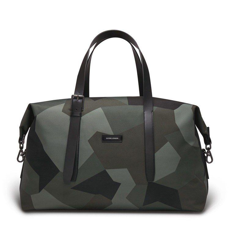 Georg Jesen MUUTOS限量迷彩色旅行袋 M,17,680元。圖/G...