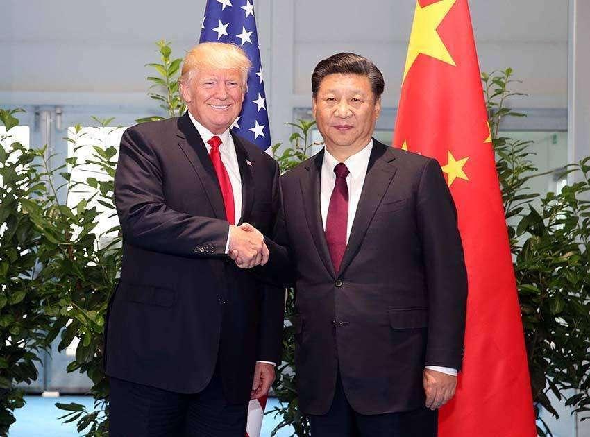 大陸國家主席習近平18日晚間與美國總統川普通話,確定兩人將在G20大阪峰會上舉行...