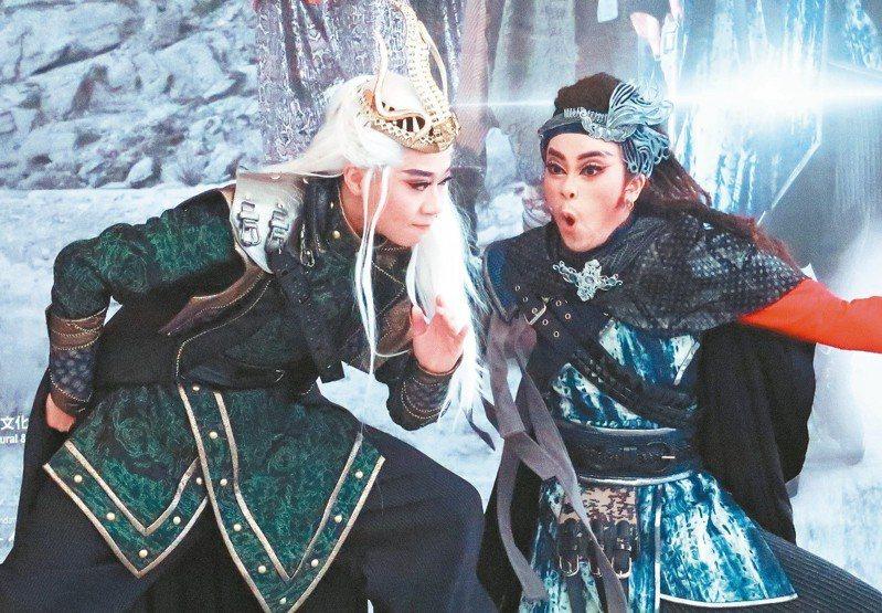 《靈界少年偵察組特別篇-永不墜落的星辰》,7月13、14日在衛武營戲劇院演出。 記者徐如宜/攝影