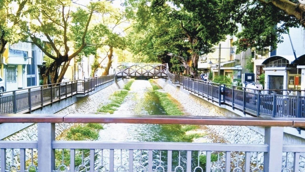 台中市綠川柳川維護費成藍綠爭議焦點。 圖/台中市新聞局提供