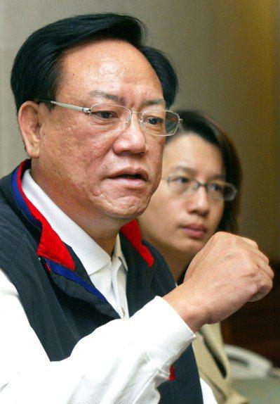 國民黨前立委何智輝。 圖/聯合報系資料照片