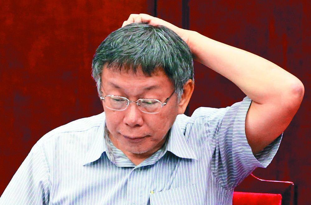 柯文哲。記者林俊良/攝影