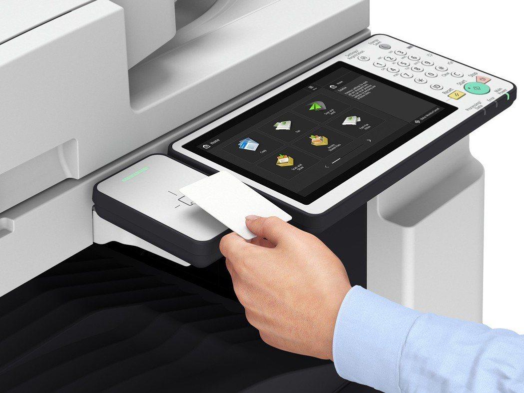 Canon全新第三代智慧型商用複合機 iR-ADV III 可使用安全識別感應卡...