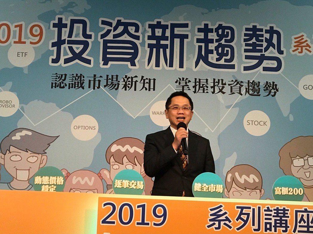 證交所總經理簡立忠表示,逐筆交易明年3月23日開始確定實施上路,是台灣資本市場的...
