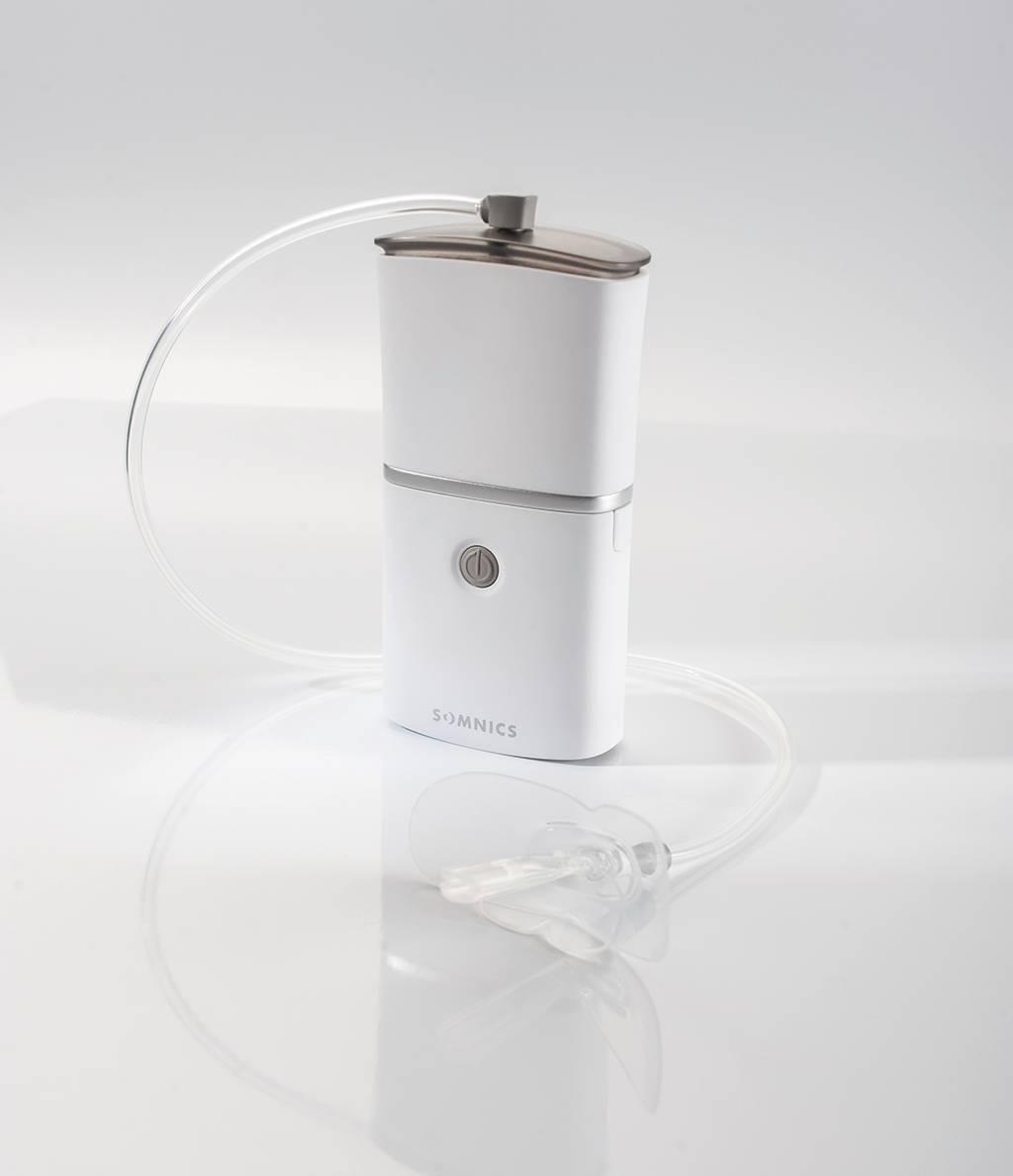萊鎂醫的iNAP ONE負壓睡眠呼吸治療裝置適用於改善呼吸中止症,提昇睡眠品質。...