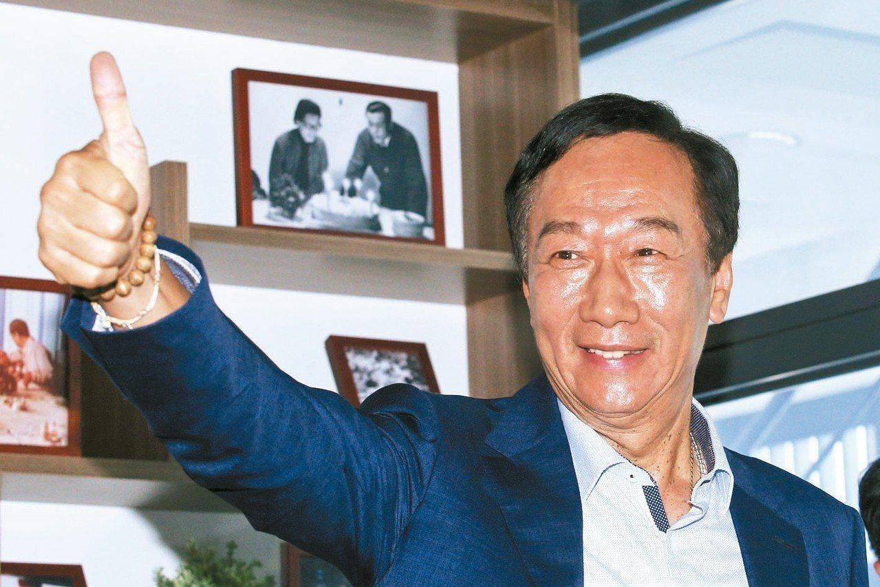 郭台銘日前明確表示,百分之百不會回去當鴻海董事長,21日股東會將是郭台銘最後一次...