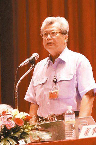 中鋼董座翁朝棟表示,美中貿易摩擦對台灣是危機也是轉機。 記者徐如宜/攝影