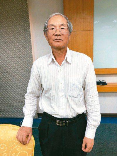 漢唐董事長陳朝水。 記者吳凱中/攝影