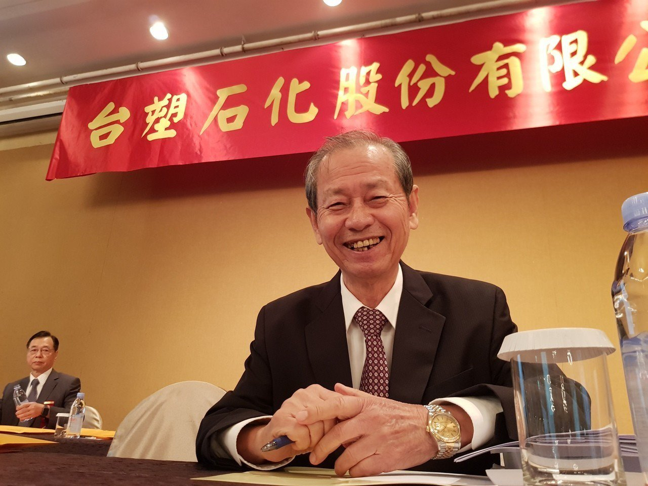 台塑化董事長陳寶郎。 聯合報系記者曾仁凱/攝影