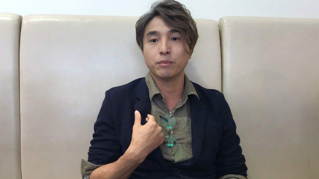 王少偉談謝忻近況。 記者葉君遠/攝影