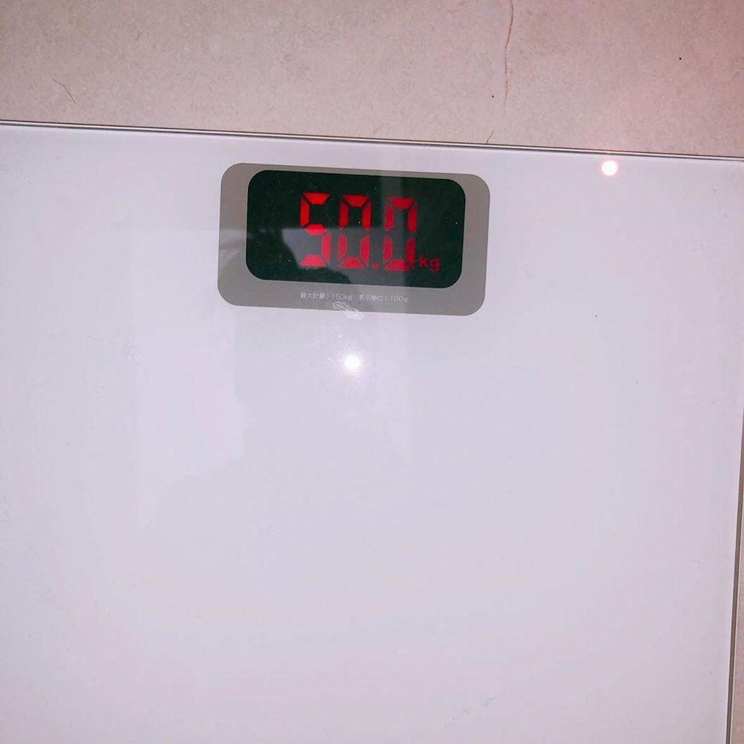宣美為巡演增重,成功到達50公斤。圖/擷自IG