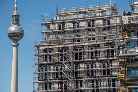 柏林市政府18日宣布:最遲自2020年起,柏林房租將凍漲5年。 圖/法新社