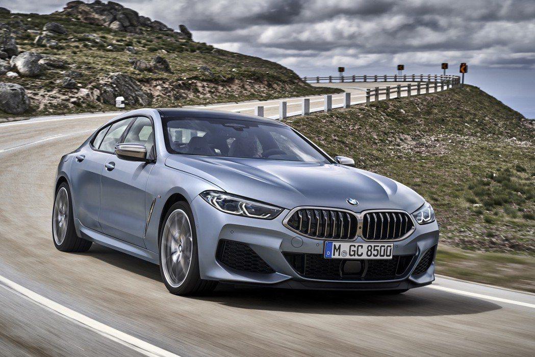 全新BMW 8 Series Gran Coupe (G16) 車身尺碼又比雙門...
