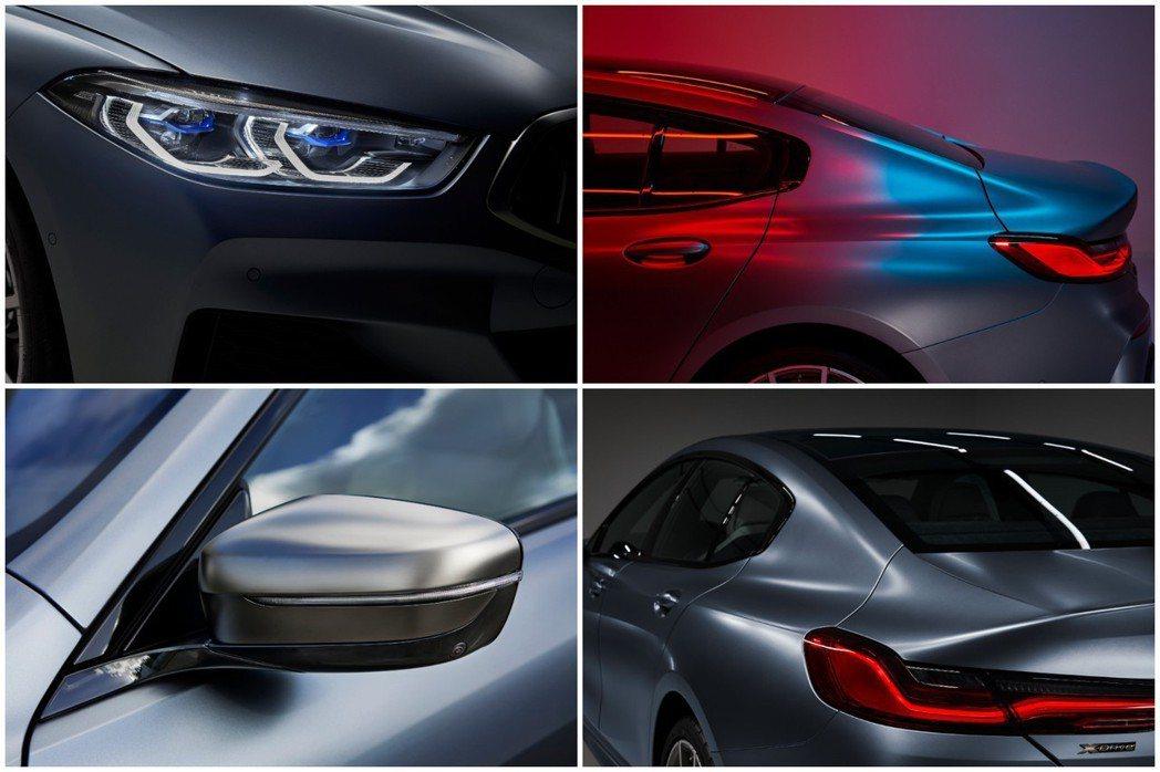 全新BMW 8 Series Gran Coupe (G16) 外觀特色。 摘自...