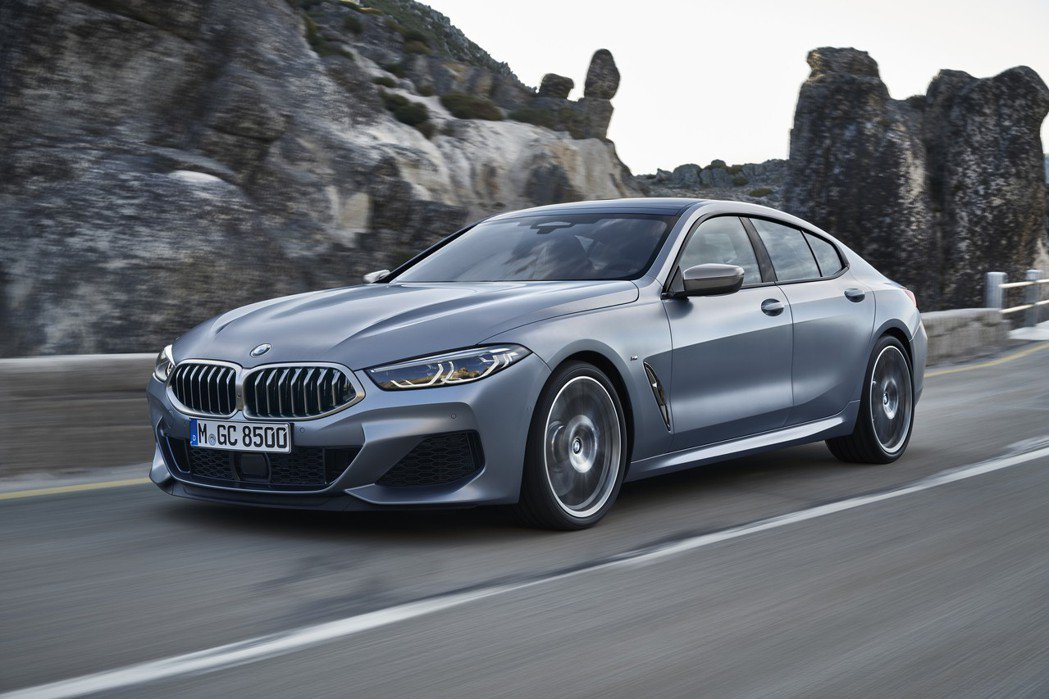 全新BMW 8 Series Gran Coupe (G16)。 摘自BMW