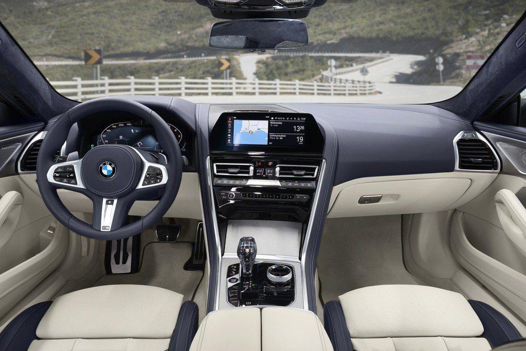 全新BMW 8 Series Gran Coupe (G16) 豪華質感兼具的內...