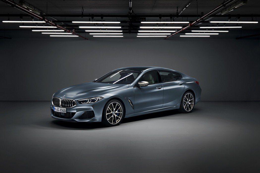 全新BMW 8 Series Gran Coupe (G16) 共有三種動力、四...