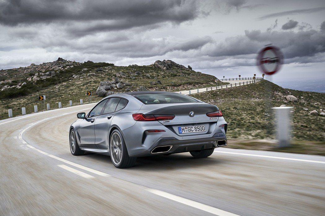 全新BMW 8 Series Gran Coupe (G16) 新增840i與8...