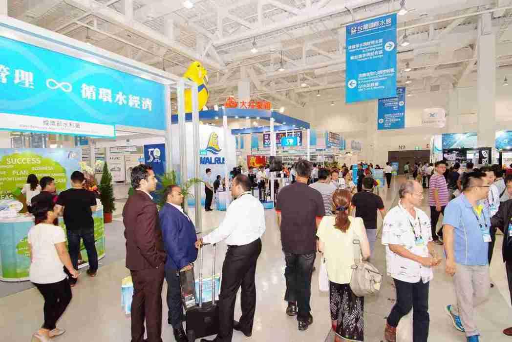 台灣國際水展是全台唯一水資源整合專業展。 貿協/提供