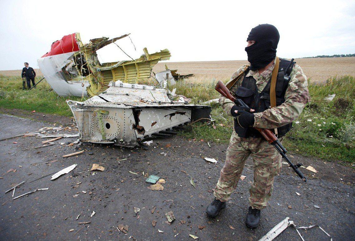 調查團在2016年時便指出,馬航空難的背後有俄羅斯暗中協力指使。圖為烏東親俄士兵...