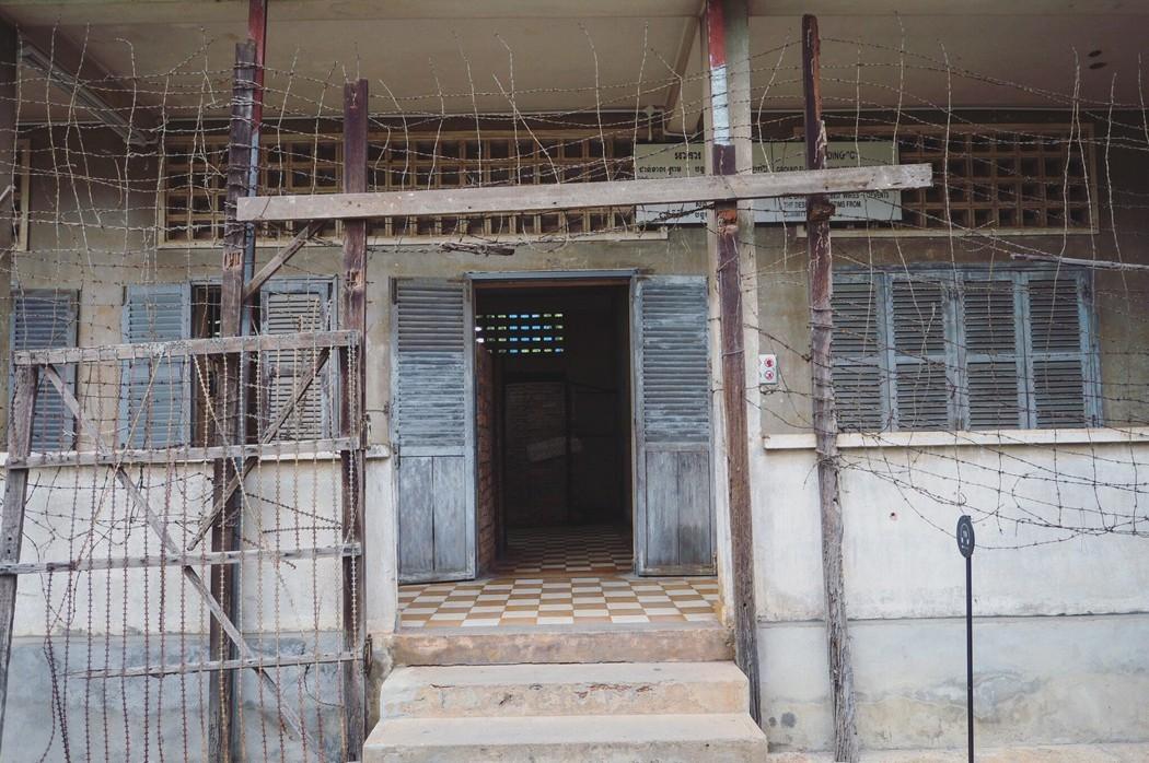 那黑暗的3年8個月又20天/吐斯廉屠殺博物館 Tuol Sleng Genocide Museum