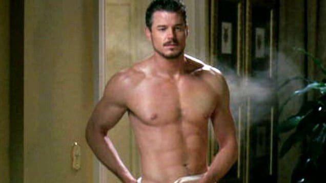 艾瑞克丹恩在「實習醫生」展現身材的一幕,讓他贏得性感封號。圖/摘自Instagr...