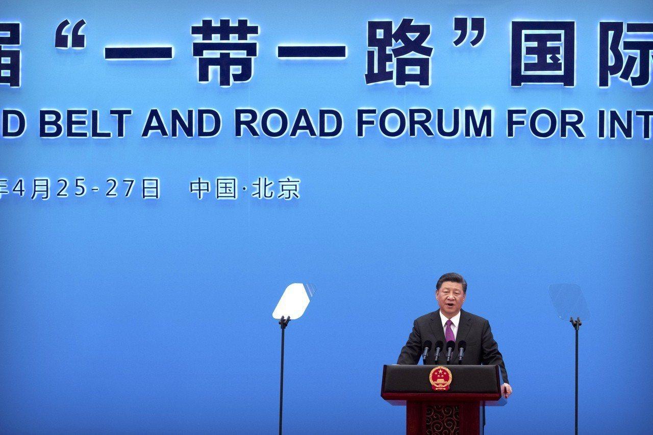 世界銀行發布報告指出,一帶一路計畫可能加速數十個開發中國家經濟發展。圖為中國大陸...