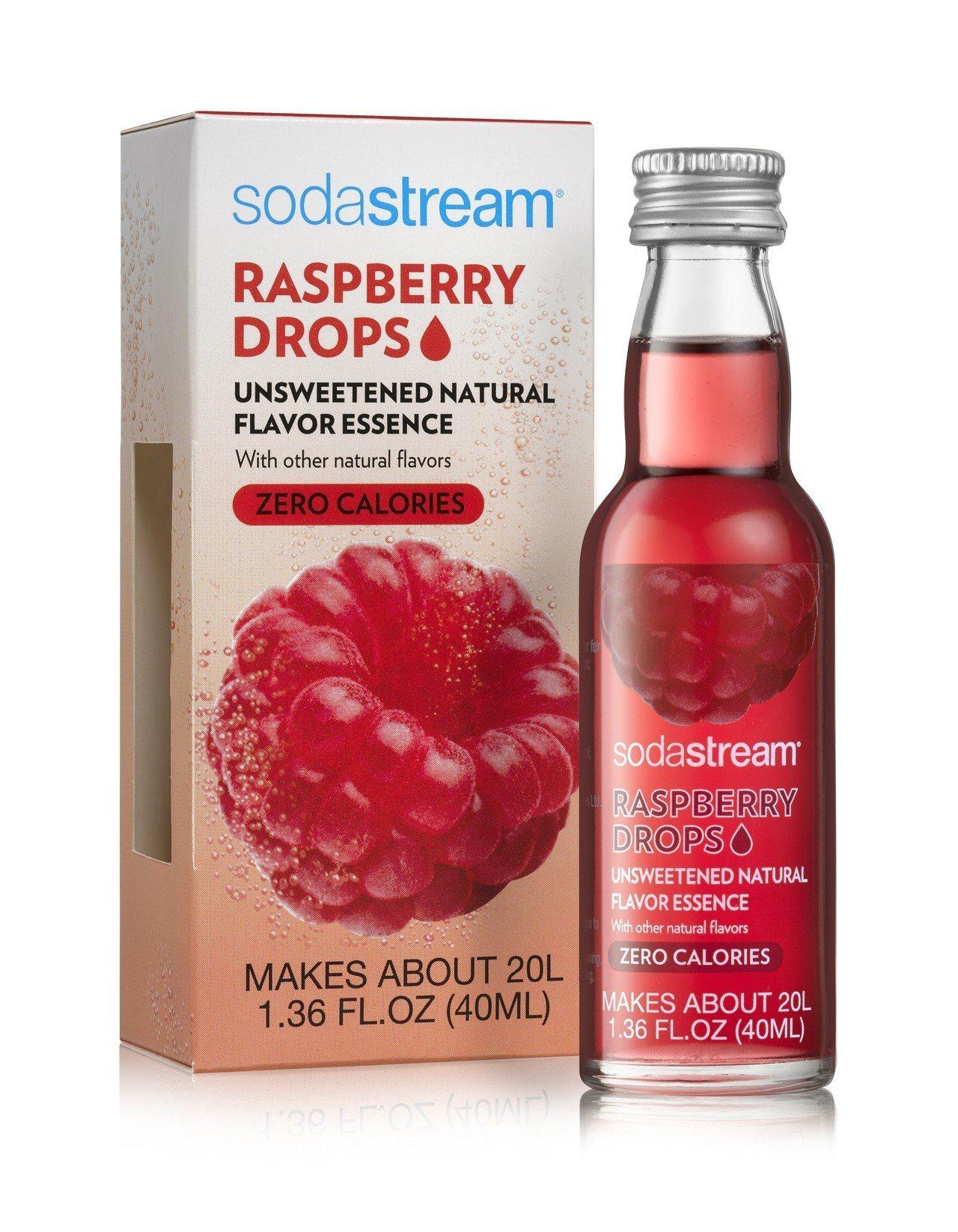 sodastream Fruit Drop果香風味飲,建議售價399元。圖/恆隆...