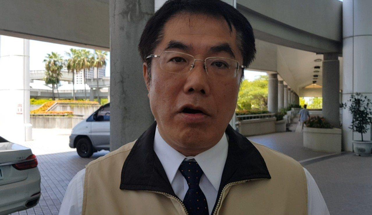 台南市長黃偉哲。記者修瑞瑩/攝影