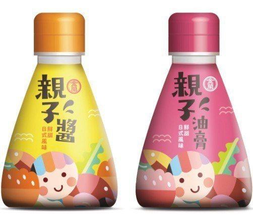 金蘭「親子醬」及「親子油膏」預計7月在惠康超市搶先上架,後續將在各大通路賣場陸續...