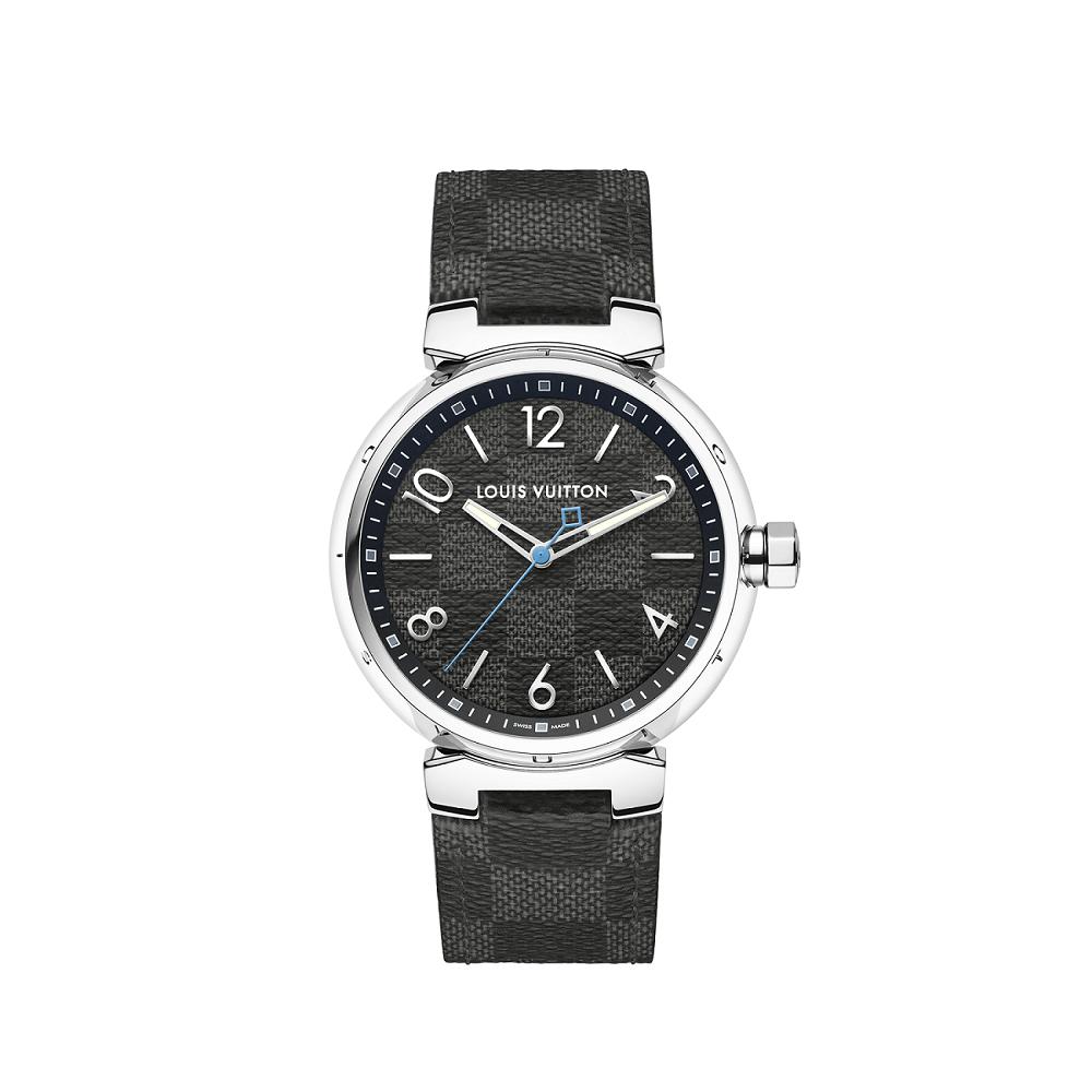 Tambour Damier Graphite腕表,售價11萬6,600元。圖/...