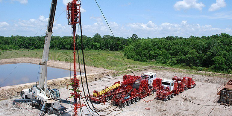 今年中國石油集團集團宣佈在長寧頁岩氣片區推進「頁岩革命」加大開發。取自石油圈