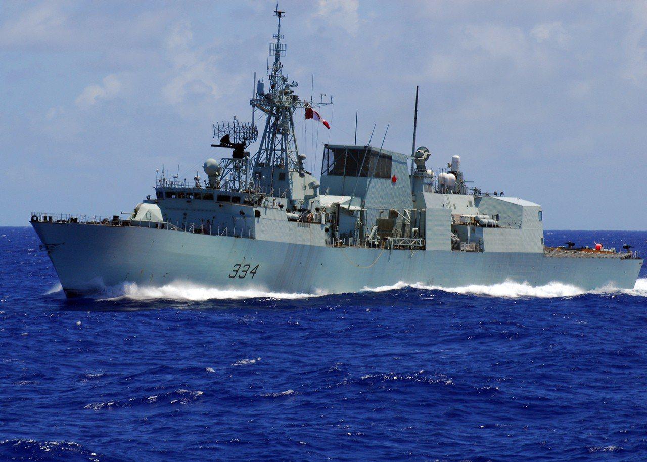 里賈納號巡防艦。圖/美國海軍檔案照