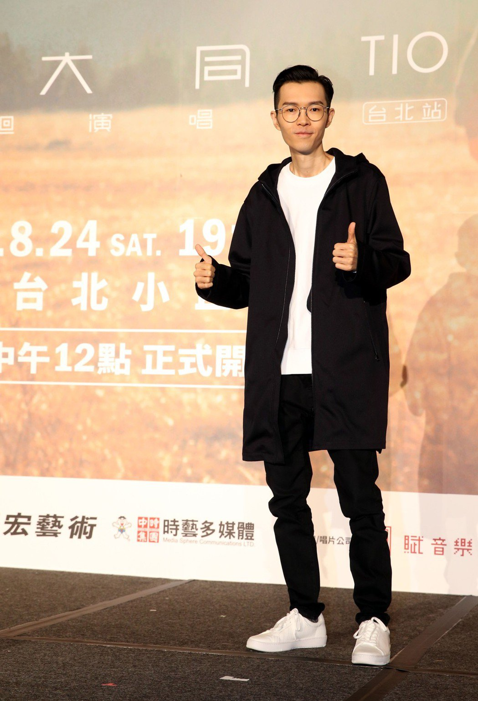 方大同舉辦「TIO靈心之子」巡演記者會。記者林俊良/攝影