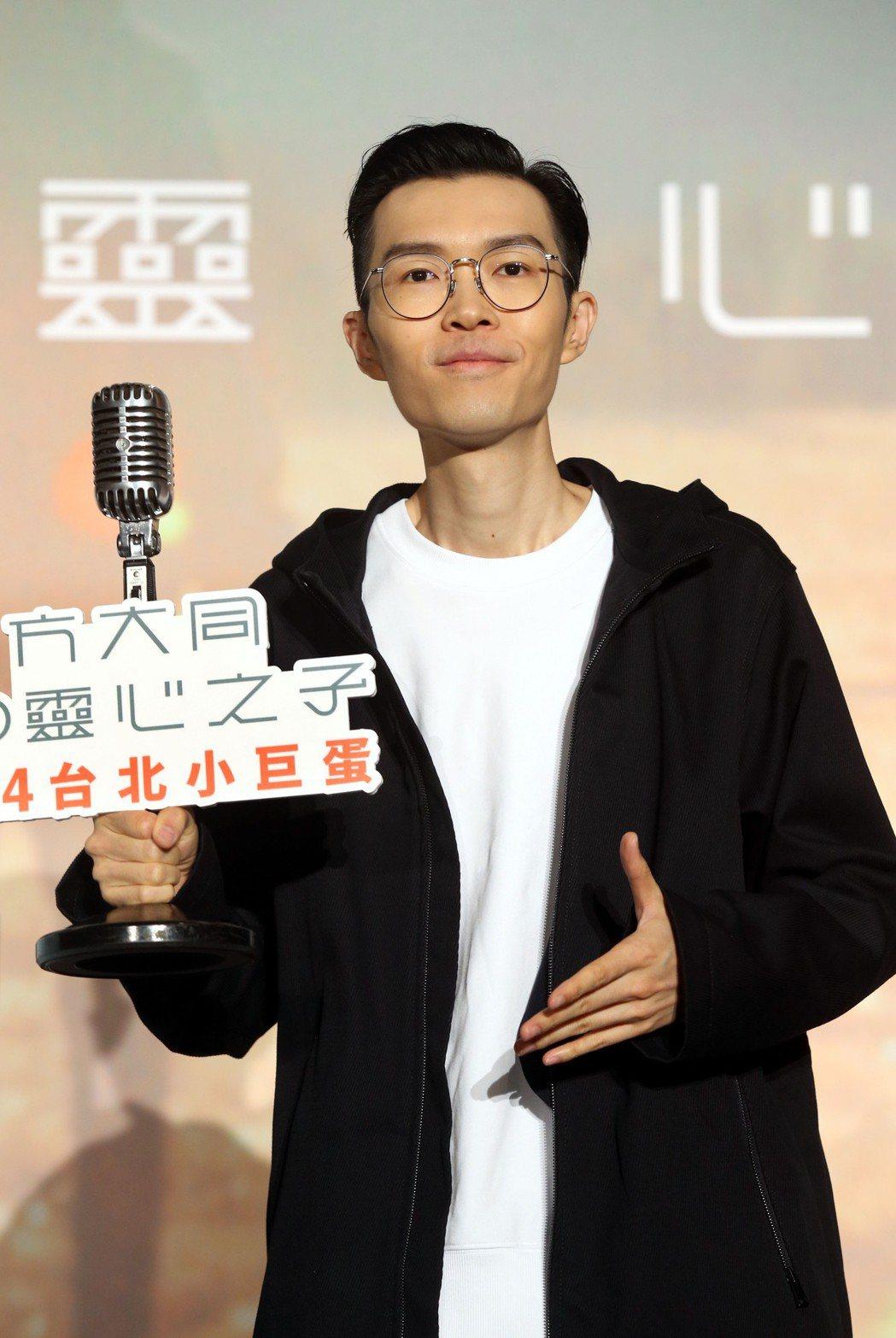 方大同體型消瘦。記者林俊良/攝影