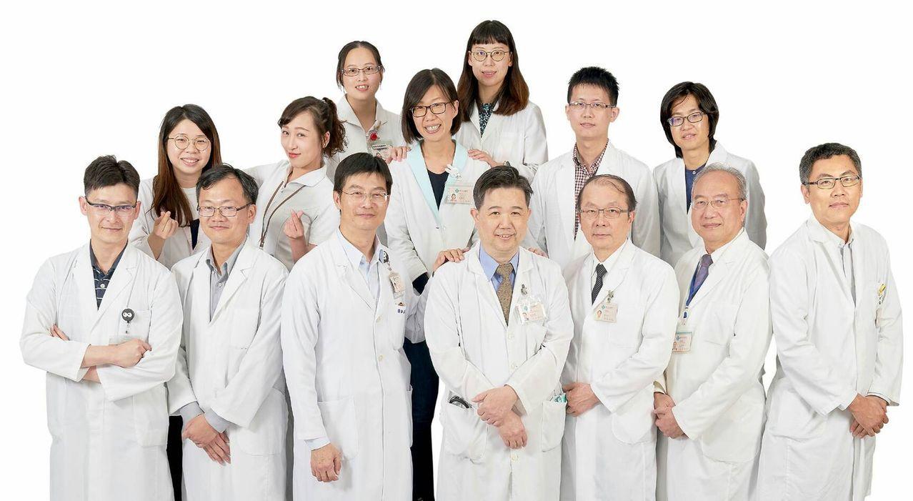 台中榮總擁有完整且經驗豐富的肺癌照護團隊。圖/台中榮總提供