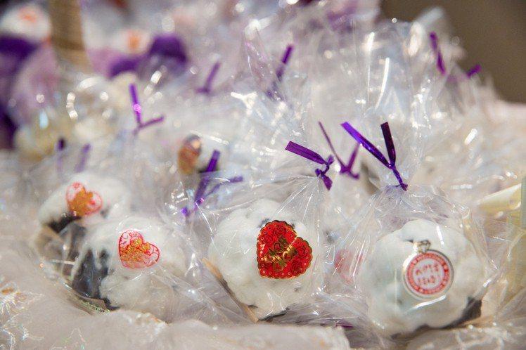 白頭翁很受歡迎。圖/那瑪卡西-名古屋日式點心提供