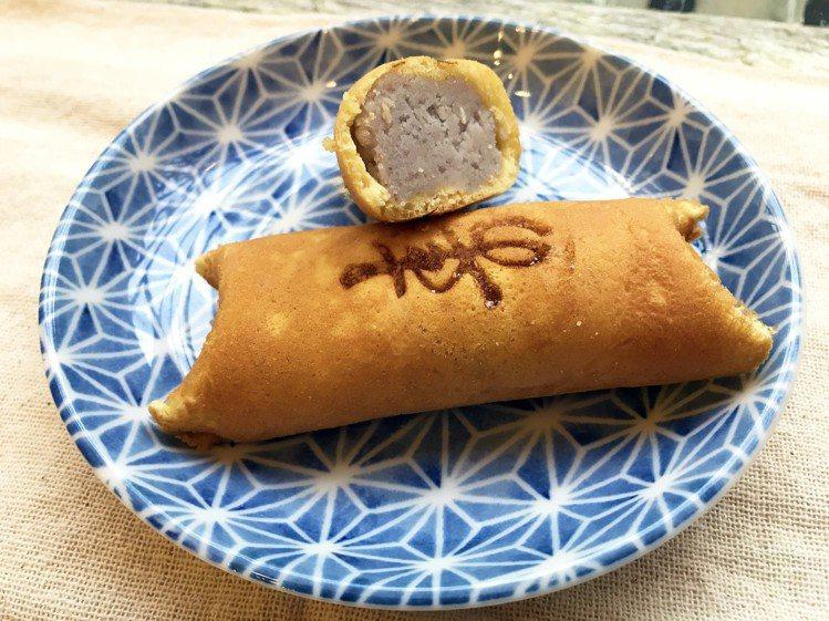 芋頭銅鑼燒。圖/那瑪卡西-名古屋日式點心提供