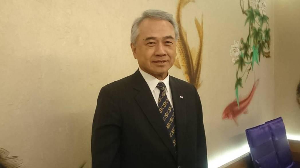 陽明海運董事長謝志堅看好海運市場第三季旺季表現。記者黃淑惠/攝影