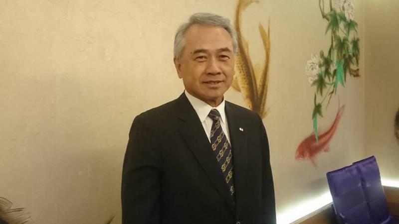 陽明海運董事長謝志堅。 圖/聯合報系資料照片