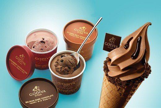 6/22、6/23限定兩日,GODIVA冰品買一送一(口味以現場提供為主)。圖/...