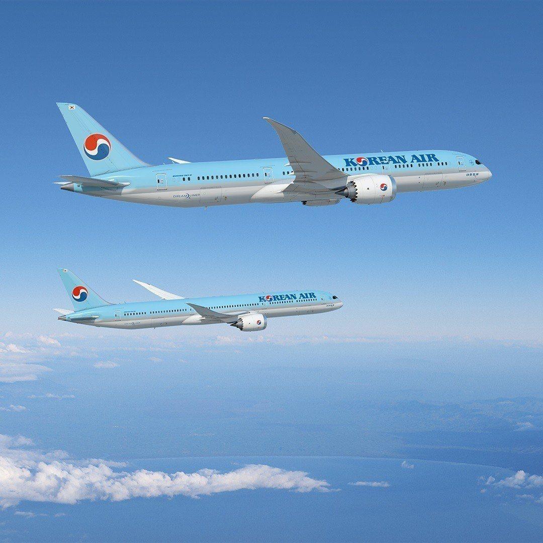 大韓航空機隊計劃增添30架全新的787夢想飛機(Dreamliner),其中包括...
