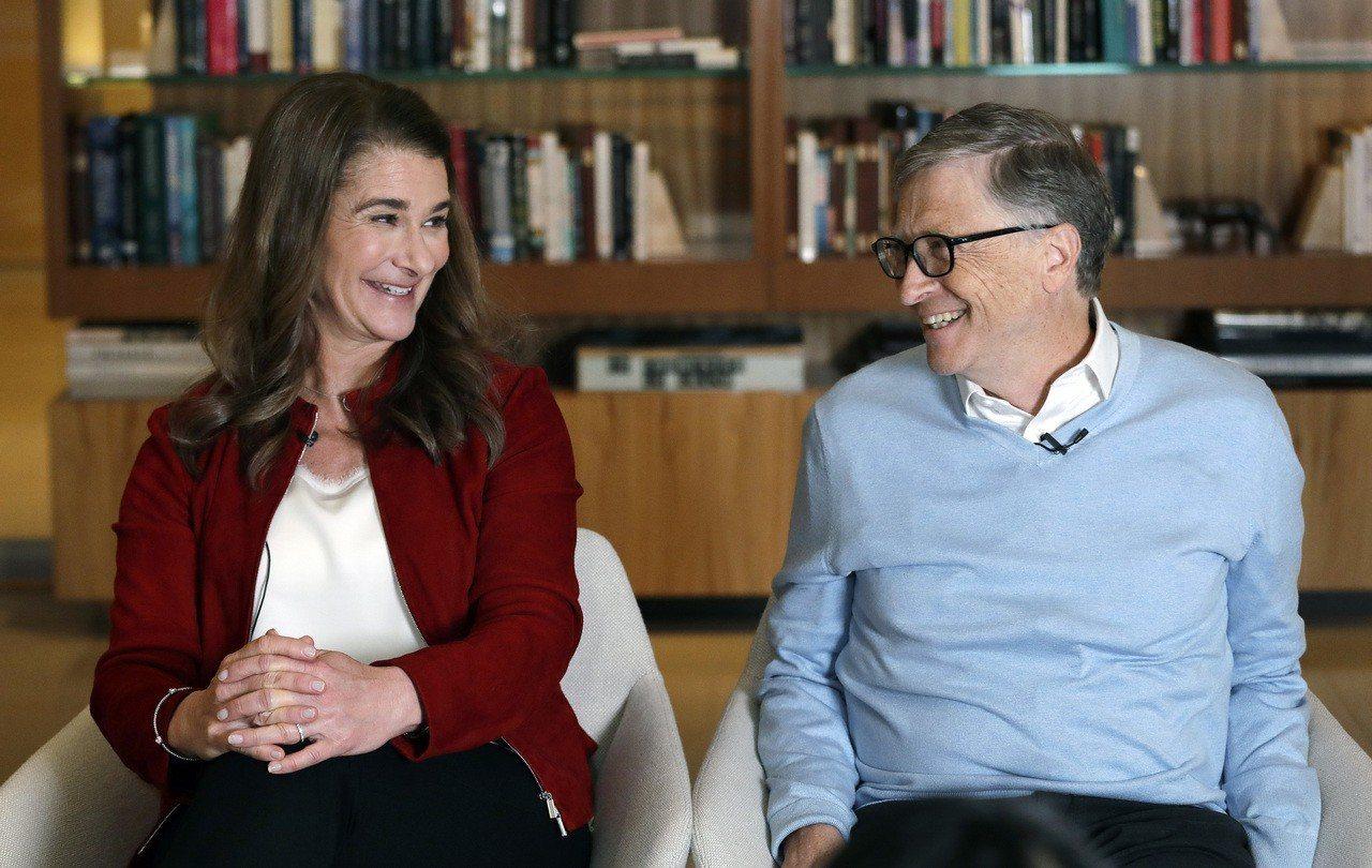 比爾蓋茲夫婦是致力慈善事業的一大範例。 美聯社