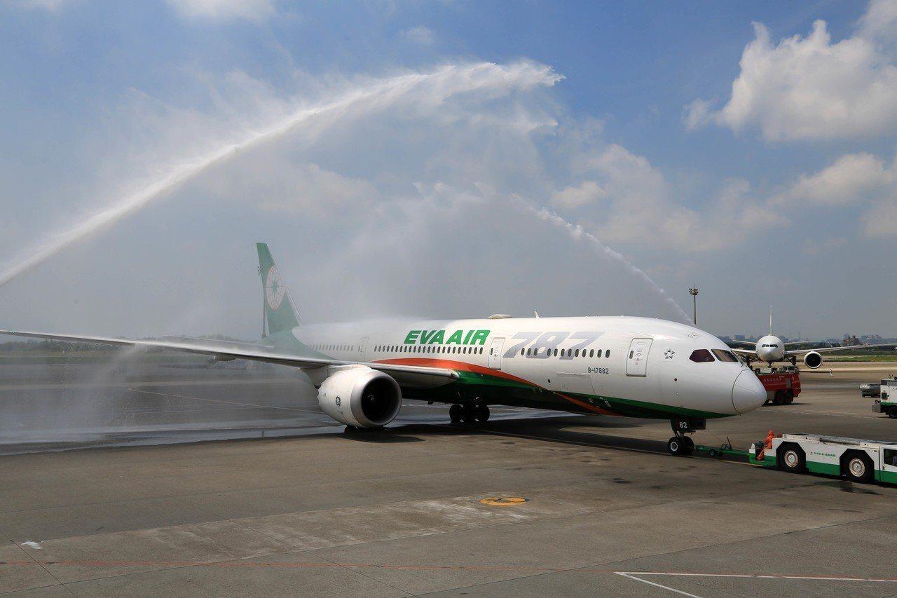 長榮航空在2019最佳航空公司排名第六,且在最乾淨航空項目奪冠。(本報資料照片)