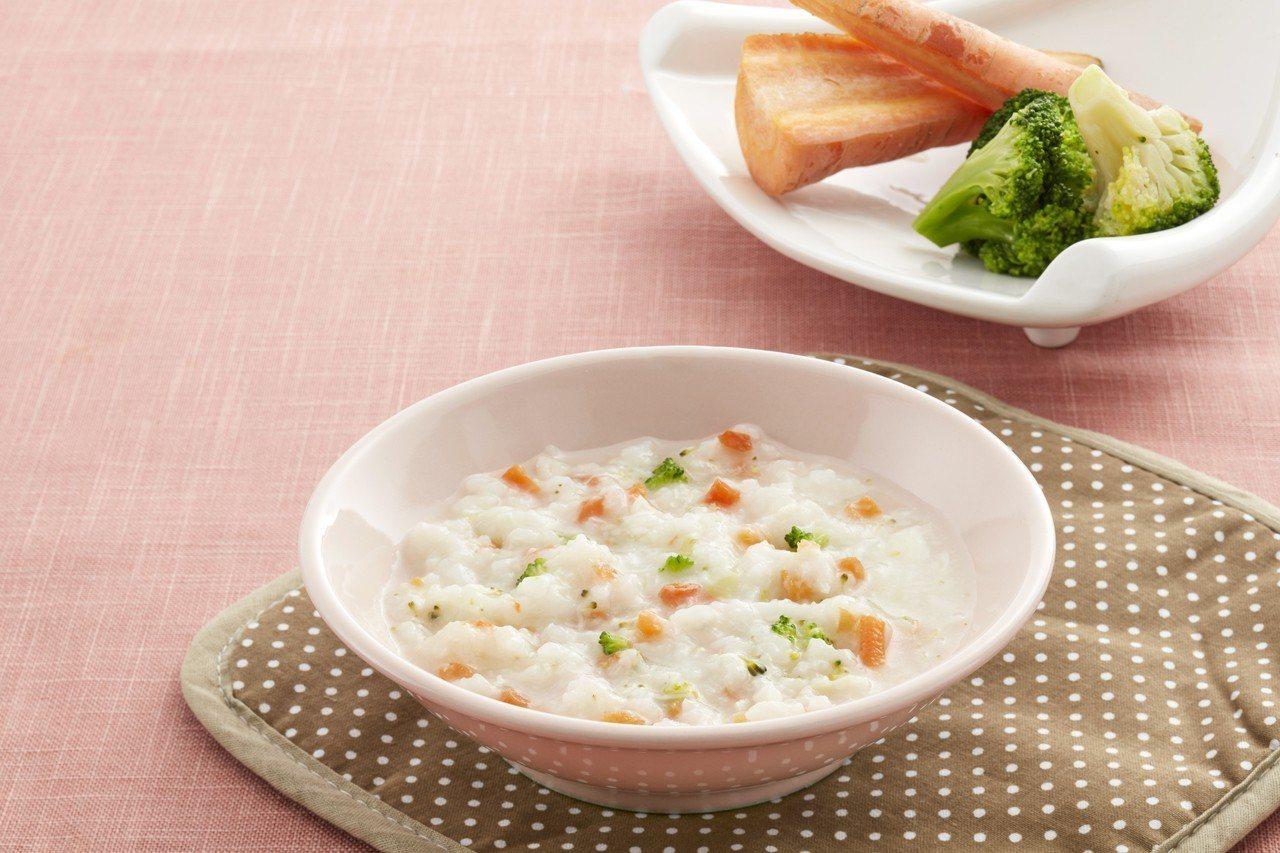 天和鮮物「龍虎斑花椰菜粥」深受饕客推崇。圖/天和鮮物提供